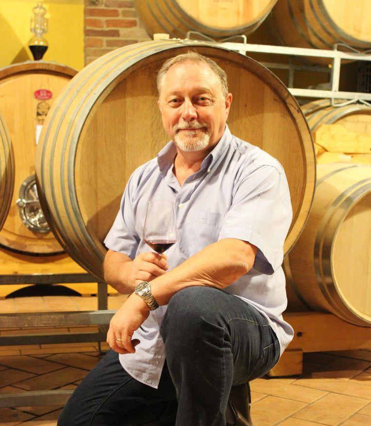 Eddy Mellaerts heeft een passie voor Italië en haar wijnen.