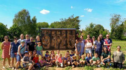 TUIN 9420 bouwt insectenhotel: een bij-zonder project