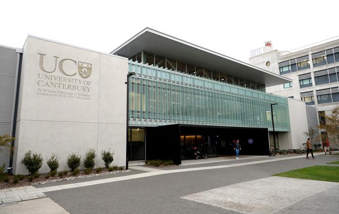 Canterbury University in Christchurch