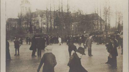 Schaatsen in Abdij van Park? In 1914 kon het…