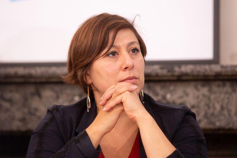 Groen-voorzitter Meyrem Almaci