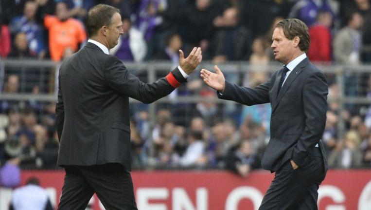 Met Van den Brom en Been stonden gisteren nog twee buitenlandse coaches langs de lijn.