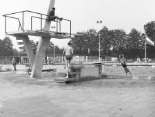 De duikplank als inspiratie voor een kunstwerk in park Kienehoef in Sint-Oedenrode