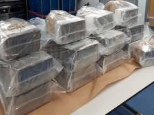 Politie onderschept 300 kilo cocaïne en twee Kalasjnikovs in Breda, man (38) opgepakt