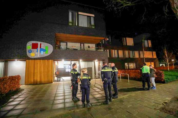 Brand bij woonzorgcomplex in Eindhoven.