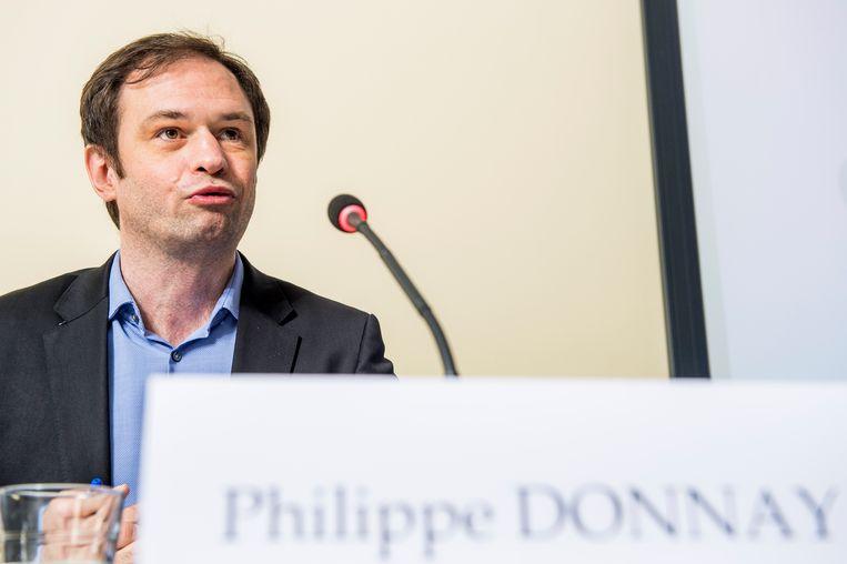 Philippe Donnay, topman van het Federaal Planbureau.