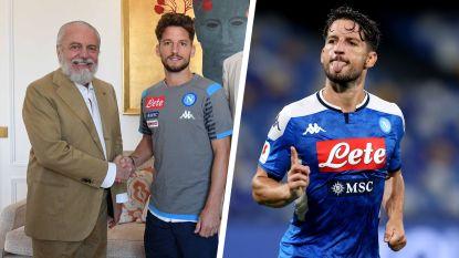 Het akkoord is een feit: Dries Mertens blijft twee jaar langer bij Napoli en wordt er grootverdiener