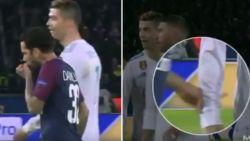 De wansmakelijke actie van Dani Alves richting Cristiano Ronaldo