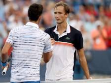 "Medvedev élimine Djokovic et rejoint Goffin en finale à Cincinnati: ""David est fantastique"""
