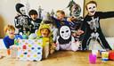 De 7-jarige Youp hield een Halloweenfeest.