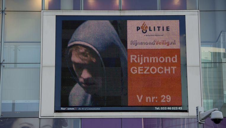 Vorig jaar werden foto's van relschoppers in het centrum van Rotterdam getoond. Beeld Robert Vos, ANP