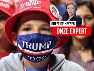 """Greet De Keyser in de VS: """"Hebben we op 3 november geen president?"""""""