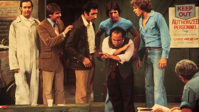 Andy Kaufman in 'Taxi'