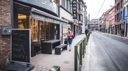 Plaats gemaakt voor terrassen in Sleepstraat