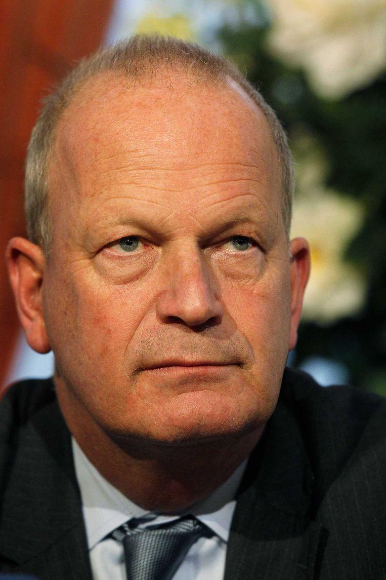 Jan Hoekema, burgemeester van Wassenaar, wil van kernwapens af. Beeld ANP