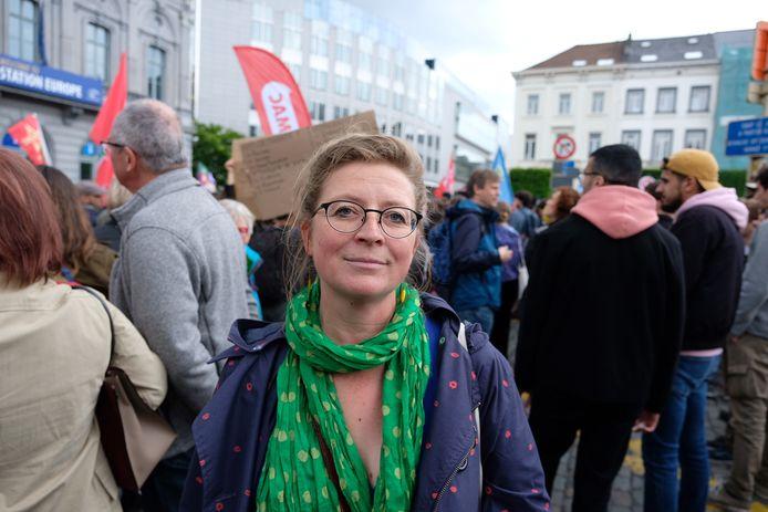 Cécile uit Schaarbeek.