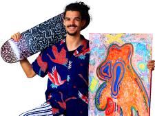 Salvatore (23) danst, tekent, schildert én waagt zich aan woordkunst