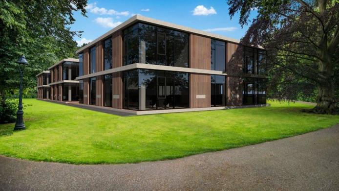 Impressie van de kantoren bij Villa Zuiderbosch.