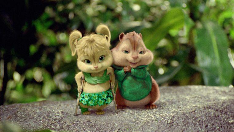 Alvin en de Chipmunks III trok veel bezoekers. Beeld null
