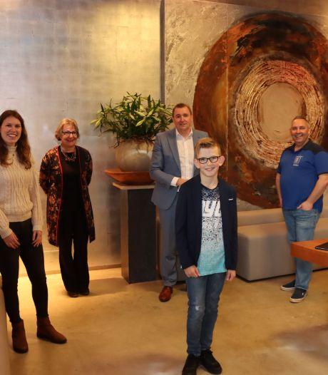 Kris (11) is de eerste kinderburgemeester van Borsele: 'Iedereen moet kunnen sporten'