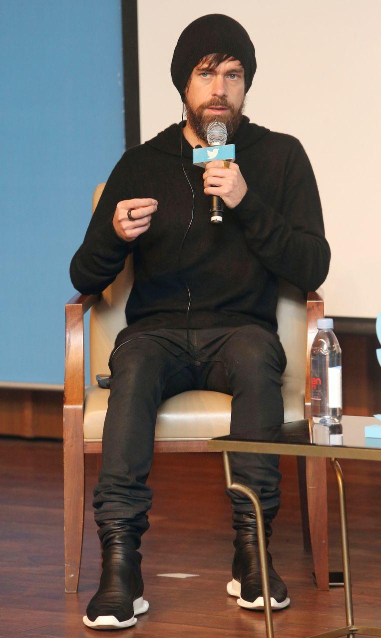 Jack Dorsey sprak vorige maand naar aanleiding van de dertiende verjaardag van Twitter voor een publiek in Seoel en had zich vestimentair niet uitgesloofd. Of net wel?