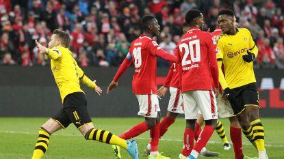 LIVE. Reus zet Dortmund op voorsprong, Thorgan Hazard in de basis