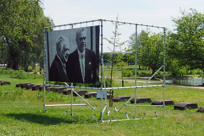 De foto stond in de Ravelstraat in Bergen op Zoom.