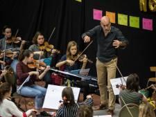 Nederlands Studenten Orkest studeert in Someren