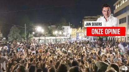 Onze opinie. Waarom doen politici en politie niet wat ze moéten doen: nachtelijke feestjes als in Elsene voorkomen in plaats van te betreuren?