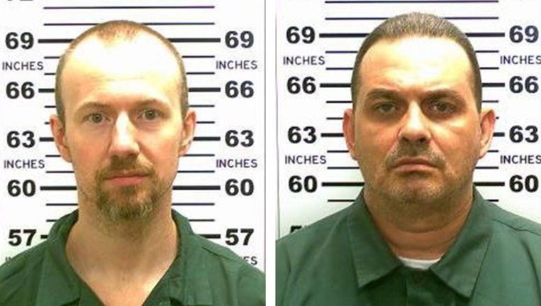 De twee ontsnapte moordenaars Beeld epa
