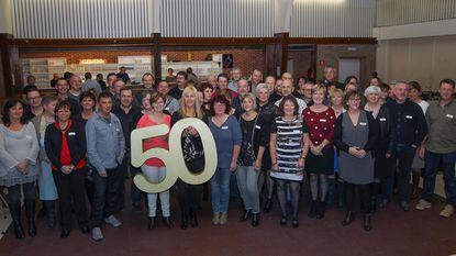 50-jarigen vieren feest in Gildenhuis