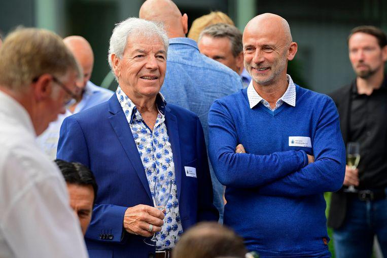 Henk Houwaart en Luc Hinderyckx.