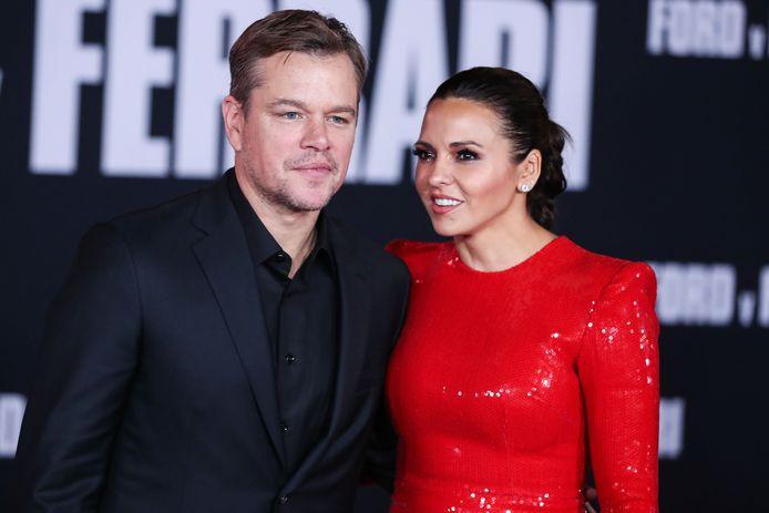 Matt Damon et sa femme Luciana Damon