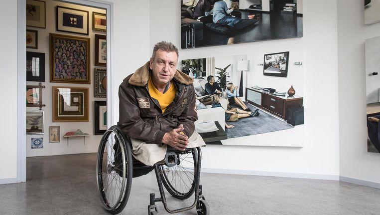 Rob Scholte in zijn museum in Den Helder. Beeld Dingena Mol