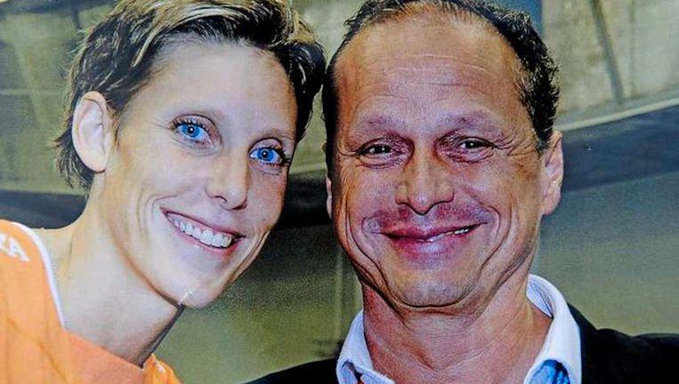 Ingrid Visser en haar partner Lodewijk Severein Beeld anp