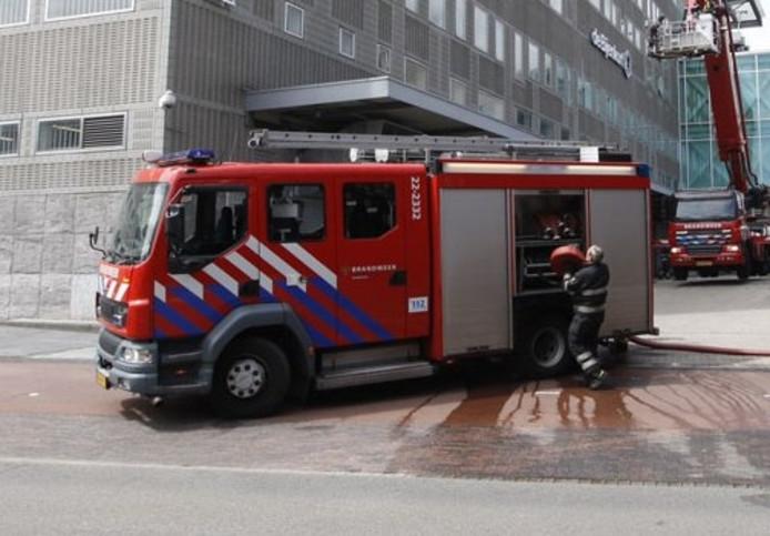 Een tankautospuit van de Veiligheidsregio Brabant-Zuidoost.