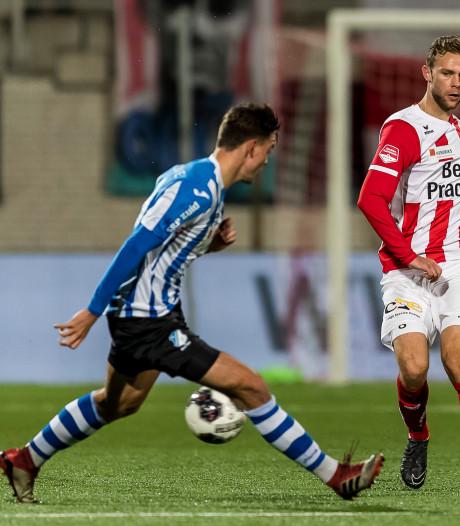 Vrees voor nieuwe knieblessure bij FC Eindhoven-speler Jarno Janssen