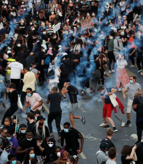 Ook in Frankrijk massaal protest tegen politiegeweld en racisme