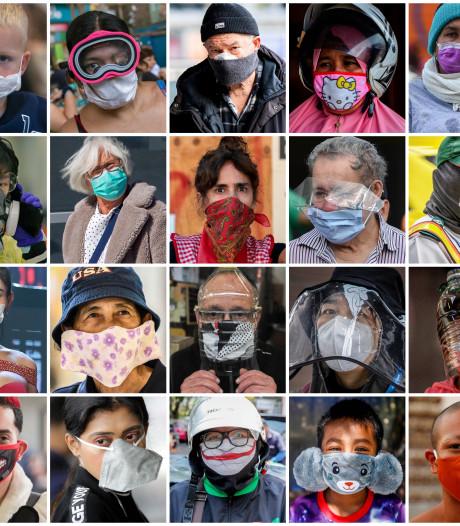 RIVM noemt dragen van mondkapjes 'schijnzekerheid', landen om ons heen geloven er wel in