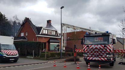 Woning onbewoonbaar na zware dakbrand