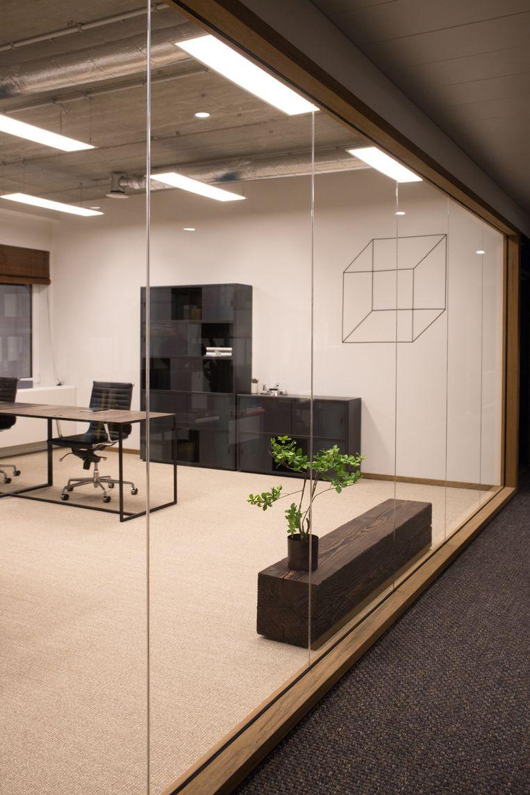 Een flexwerkbureau bij Welkin & Meraki in de Brussels