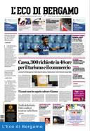 Cover L'Eco di Bergamo