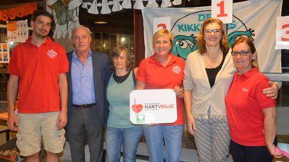 Zwemclub 'De Kikkertjes' hartveilig team