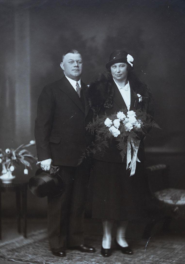 Op 17 maart 1932 trouwde hij met Heintje ('Jet') Elze Beeld Privécollectie Jack Reynolds