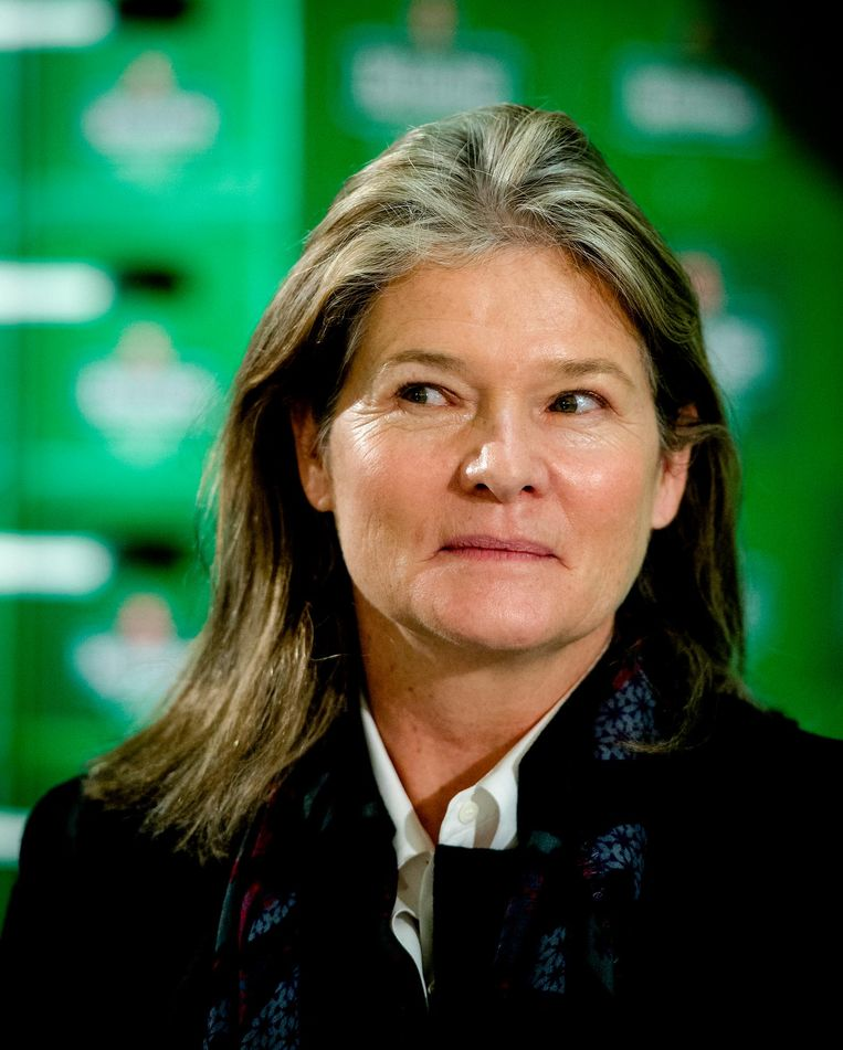 Charlene de Carvalho-Heineken. Beeld ANP