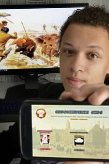 Timo (17) scoort met eigen geschiedenis-app: Een boek heb ik niet meer nodig