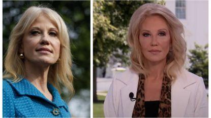 """Trumps adviseur Kellyanne Conway """"onherkenbaar"""""""