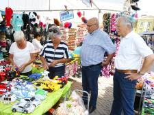 Drukte op zonovergoten paasmarkt in Gorinchem