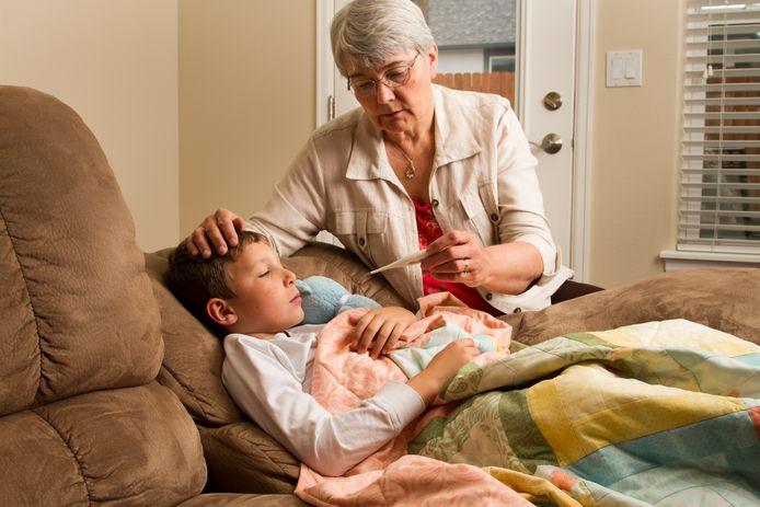 Vooral bij kinderen is er een lichte stijging van het aantal griepgevallen, maar van een epidemie is nog lang geen sprake.