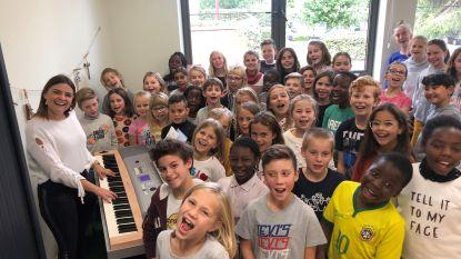 Vrije Basisschool Bovenpoort Landen verrast met twee primeurs: 'zingtijd' in eigen schoolkoor en 'zentijd' tijdens kinderyoga